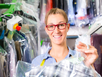 Dry-cleaning services